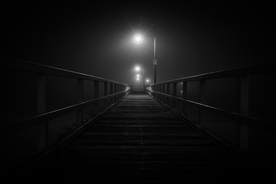 This photo was taken at a pier in Port Melbourne, Victoria, Australia. The irony with this pictur...
