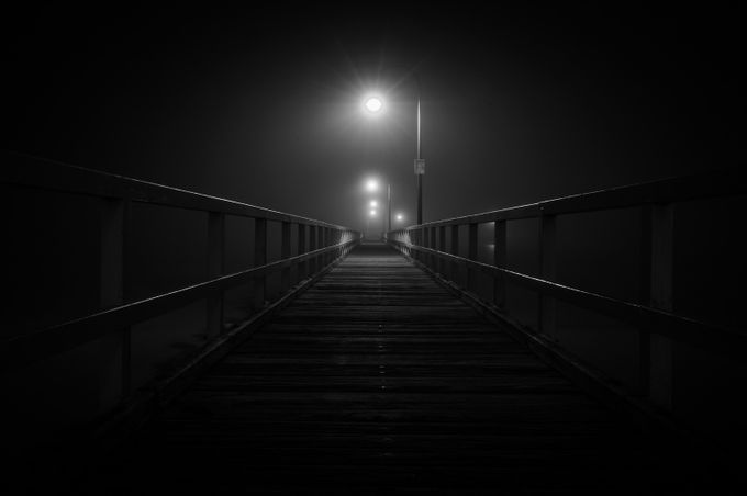 Mysterious pathway to nowhere by MissionMan - Dark And Bright Photo Contest