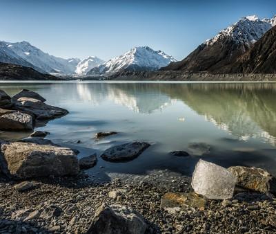 Tasman Glacier Terminal Lake,NZ