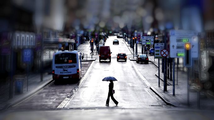 Limerick Rain 99 by Dacemac - People In The City Photo Contest