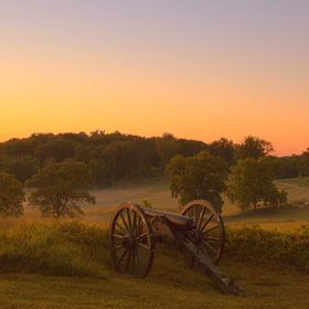Sunrise at Gettysburg National Military Park, Pennsylvania