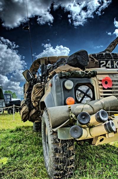 British Military Vehicle