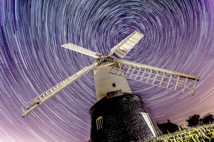 Wrawby Star trail by martynleaning - Around the World Photo Contest