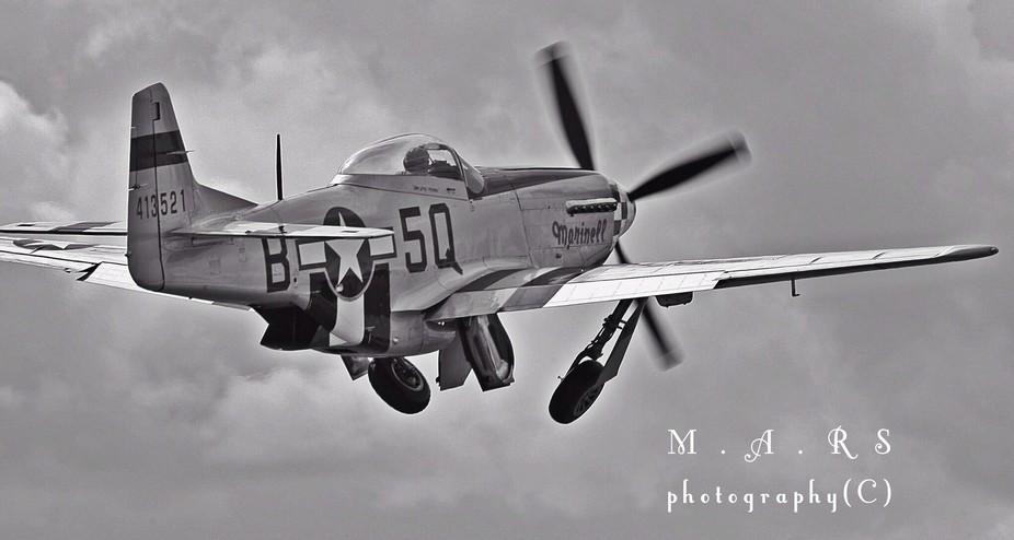 P51 fighter plane