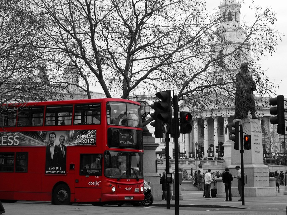 Christie\'s Camera captured this photo of a two for one of urban London iconography in this specta...