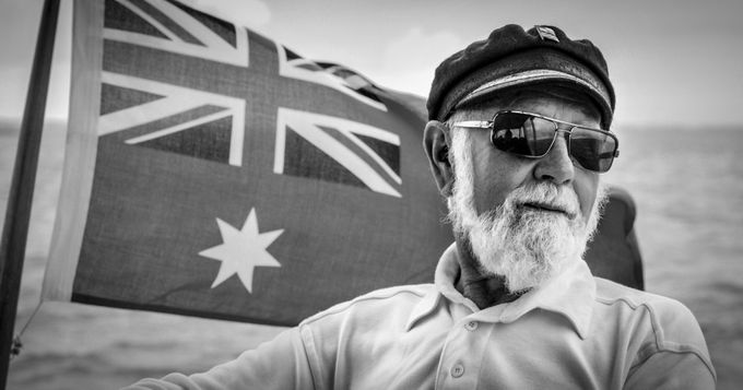 Captain Jordie by rosemarieedwards - Flags and Banners Photo Contest