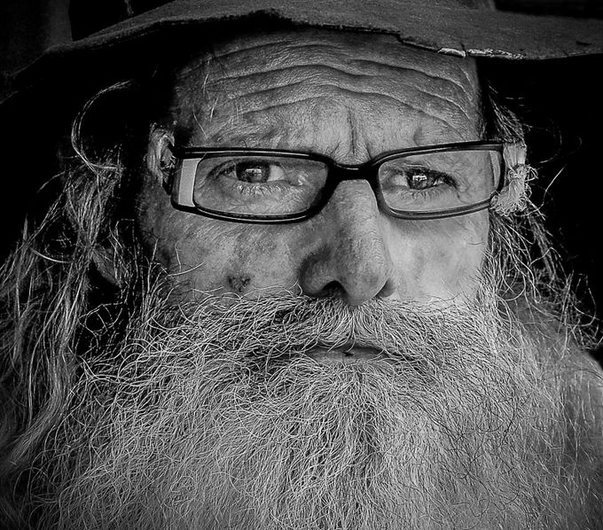 Old John by rosemarieedwards - Movember Photo Contest
