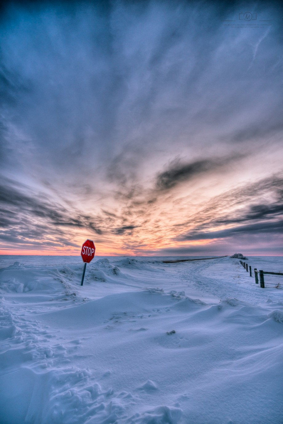 Winter Junction by IanDMcGregor - Billboards And Other Signs Photo Contest