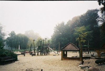 morning in a playground