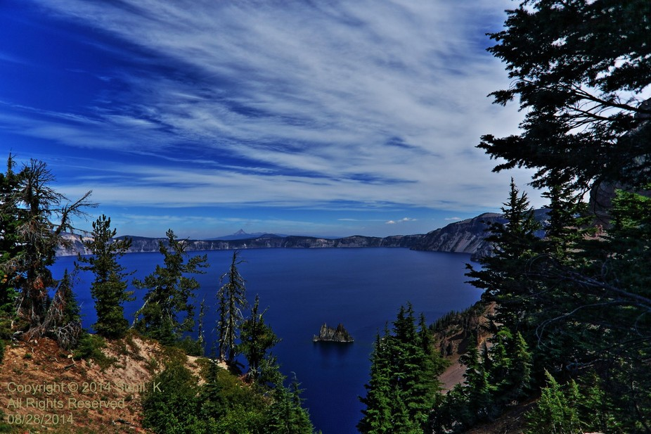 Oregon The Beautiful: The Crater Lake - Crater Lake is a caldera lake in the western United State...