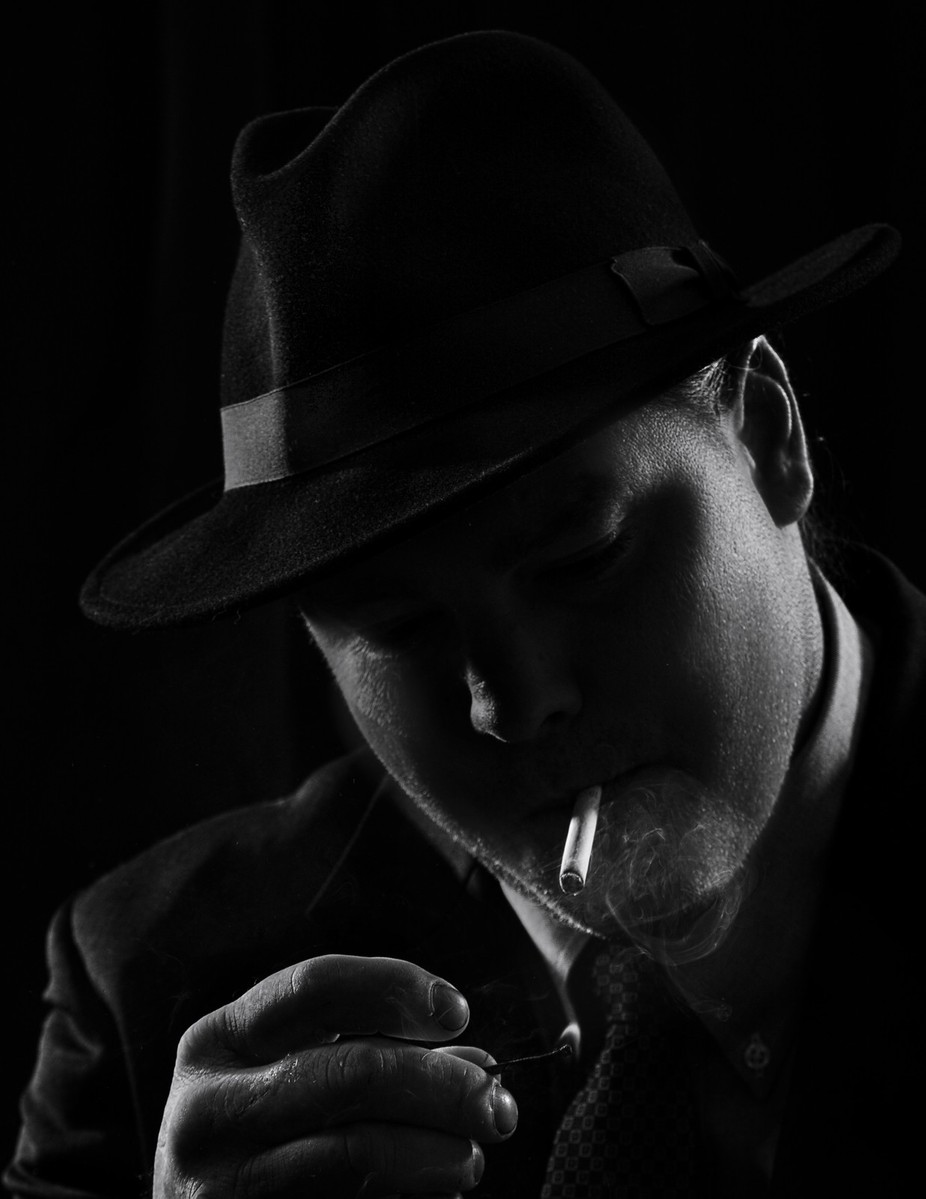 gumshoe by earlwyant - Emerging From Shadows Photo Contest