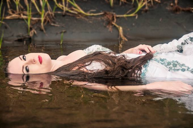Ophelia by ShiftingLightPhotography - People and Water Photo Contest