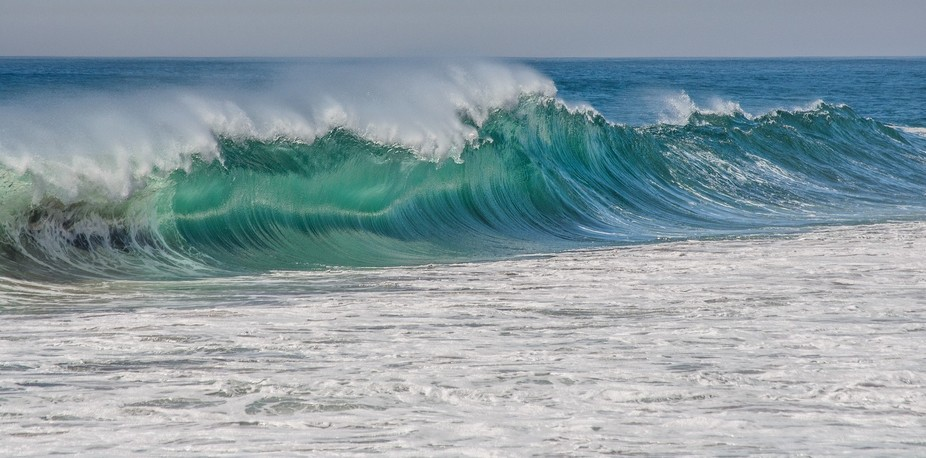 Hurricane Marie brought massive swells to the coast