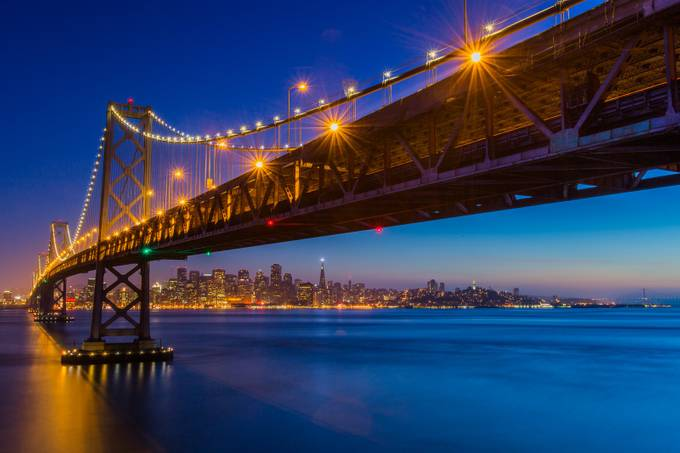 City Lights by corymarshall - Under The Bridge Photo Contest