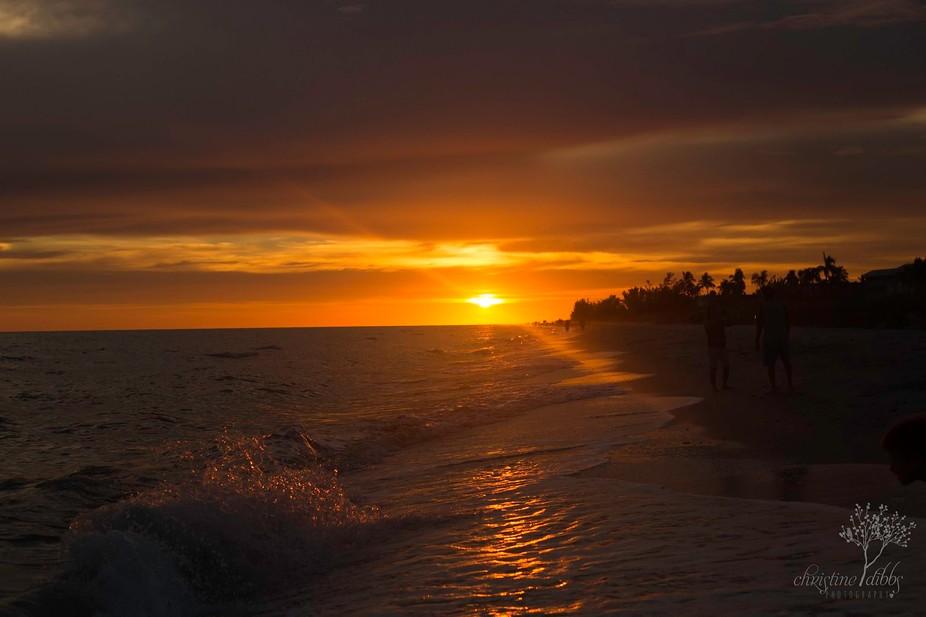 Sunset taken at Sanibel Island, Florida