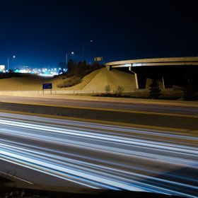 Long exposure of I-15