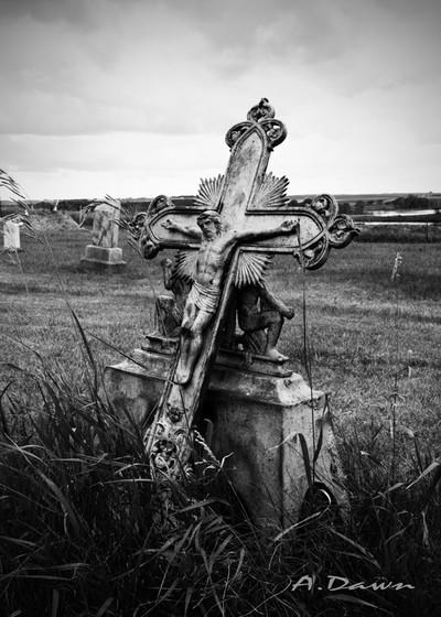 Cemetery Crucifix