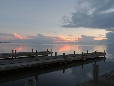 Boat ramp sunrise