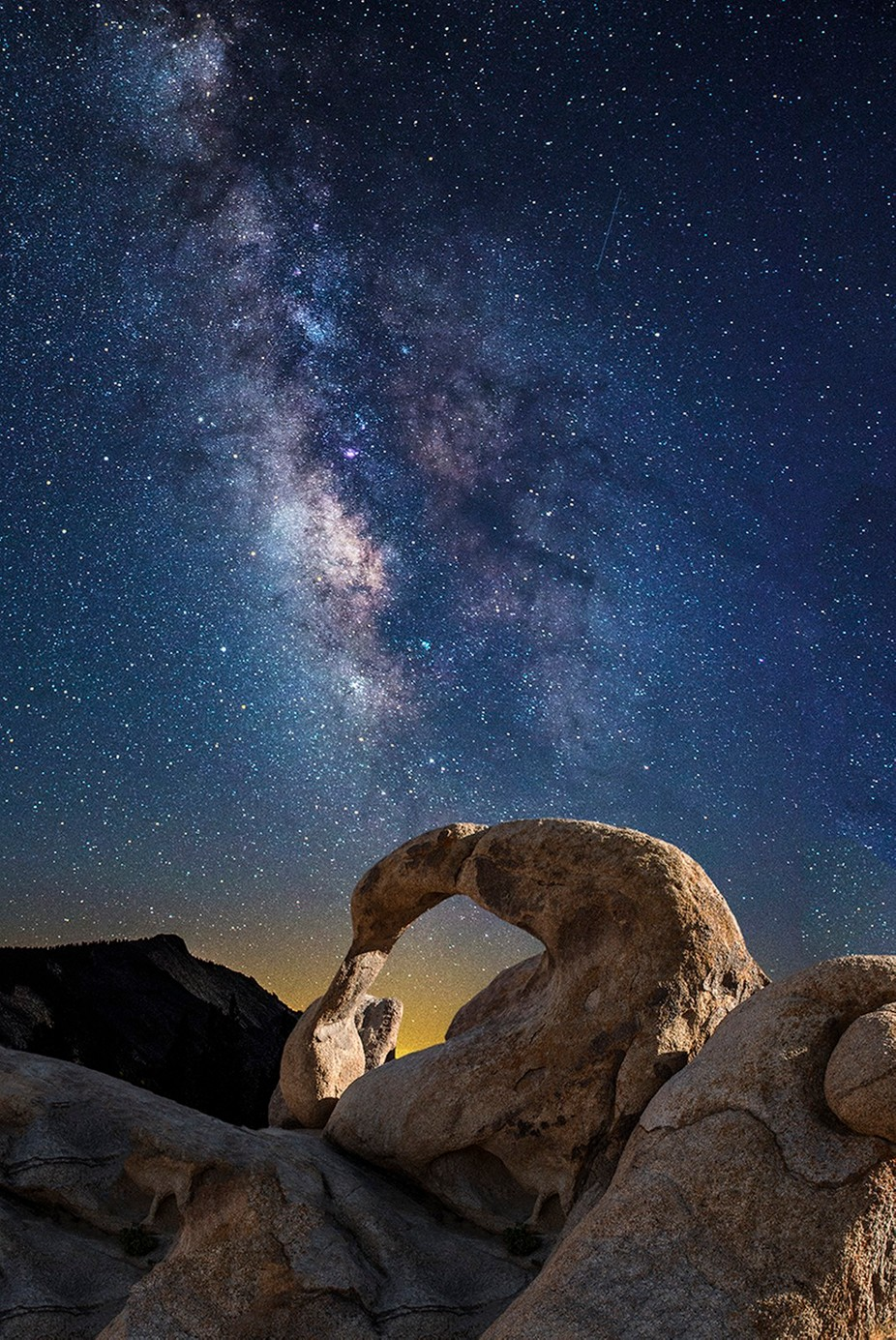 Cosmic Arch by fidfoto - Capture The Milky Way Photo Contest