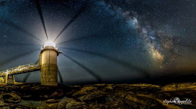 Marshall Point Lighthouse Milkyway by stephenippolito - Tripod Required Photo Contest