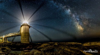 Marshall Point Lighthouse Milkyway