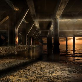 under the Pier with luminance masking, koh samui