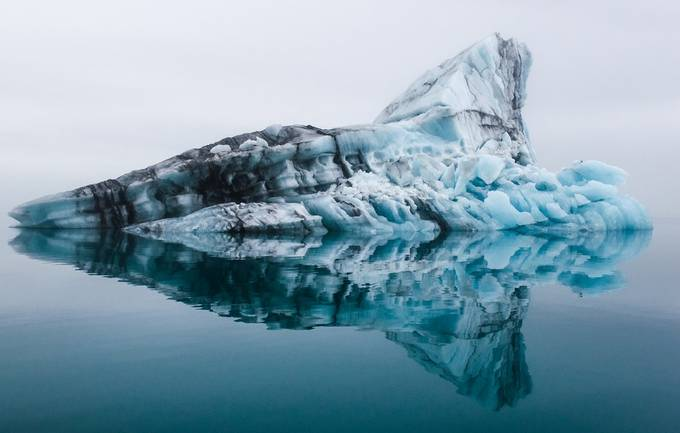 Jökulsarlón Glacier Lagoon by msredrum - Lakes And Reflections Photo Contest