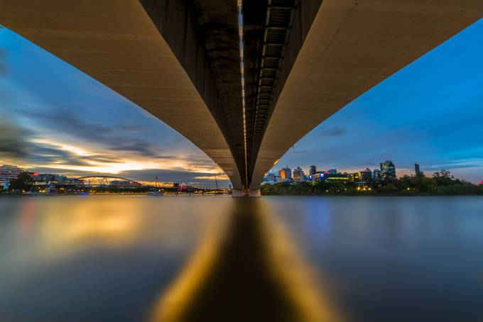 City Span by PDO1962 - Under The Bridge Photo Contest