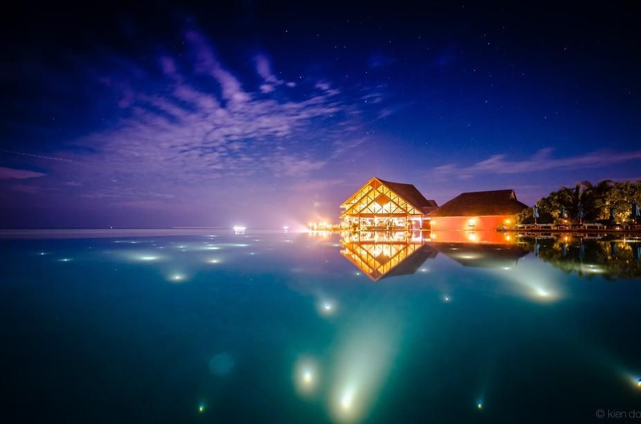 taken in Maldives, Anantara Dhigu resort.
