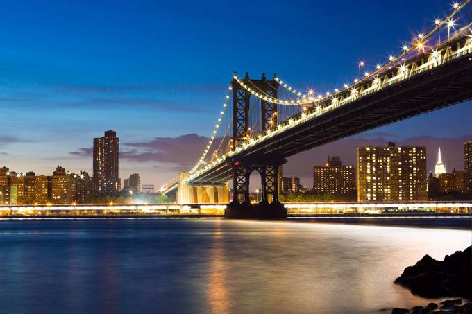 Manhattan Bridge by AndreasMurauer - Cities By The Water Photo Contest