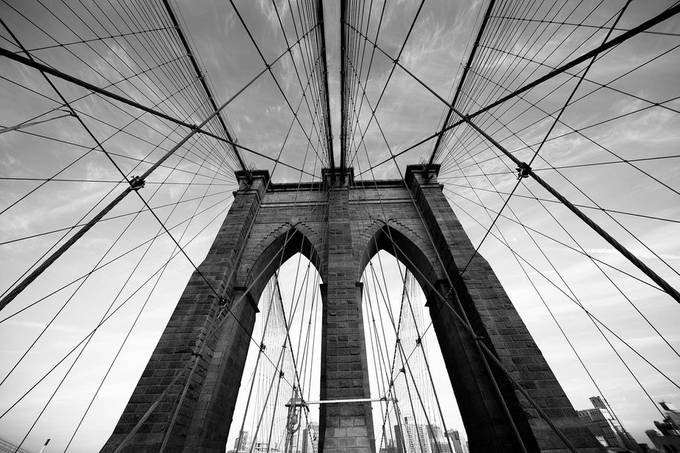 Brooklyn Bridge by AndreasMurauer - Diagonals And Composition Photo Contest