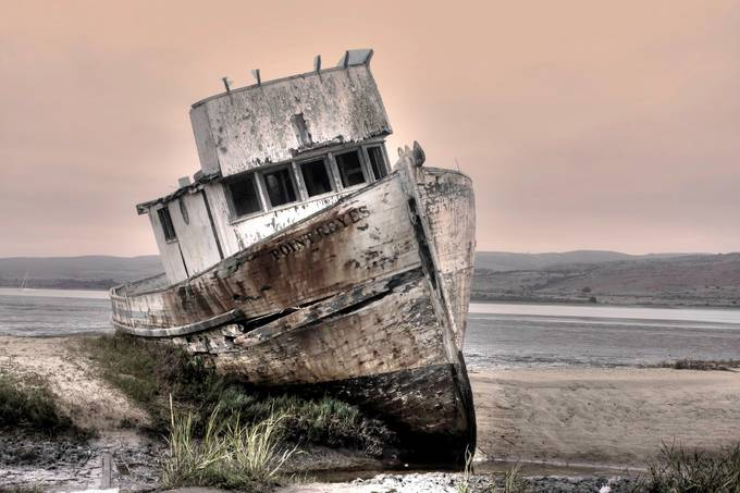 POINT REYES SHIPWRECK by Canonfire - Monthly Pro Vol 16 Photo Contest