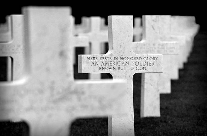 Unknown Soldier by NickBPhotoUK - Faith Photo Contest with Scott Jarvie