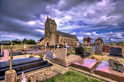 normandy grave yard