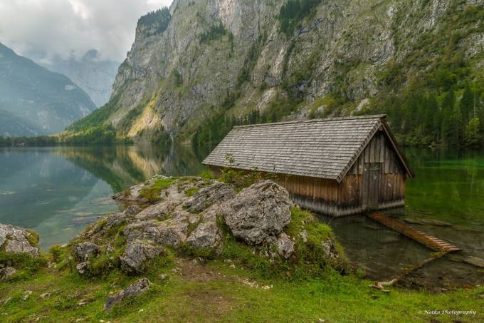 Lonely Boathouse by Notko - National Parks Photo Contest