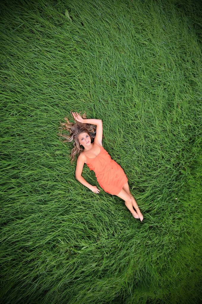 The grass is greener... by CrowFoxCarol - Environmental Portraits Photo Contest