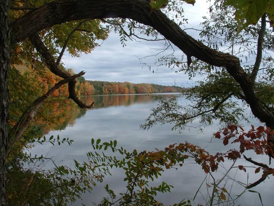 Clearfork Reservoir in Mansfield, Ohio