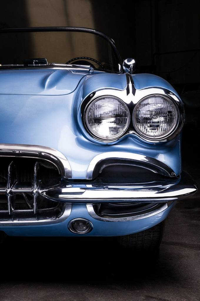 Corvette C1 by PierreTurtaut - Metallic Matter Photo Contest