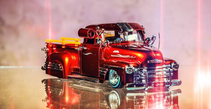 red car by ericsalvasasibuea - 300 Toys Photo Contest