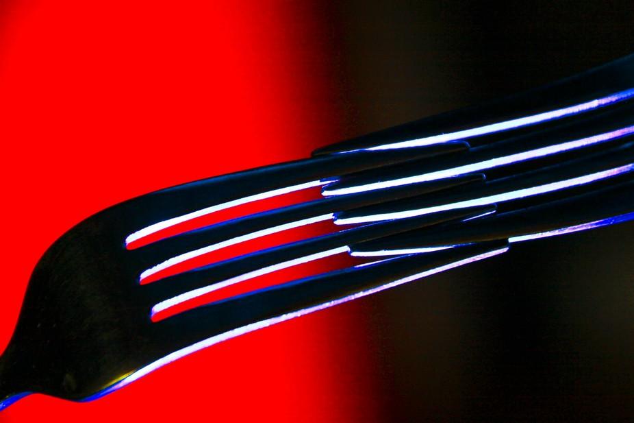 bottom lighting forks