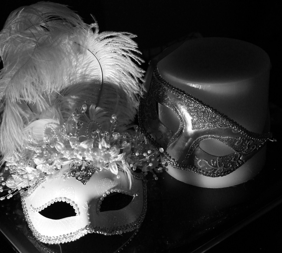 Masks,candles 006