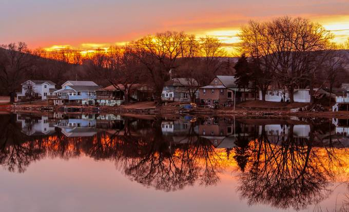Lake Salubria Bath, NY by Annette_O69 - Light On Water Photo Contest