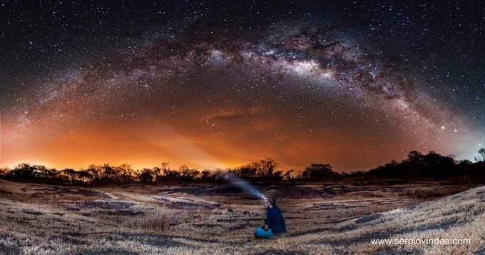 Milky Way Arc by sergiovindas - Tripod Required Photo Contest
