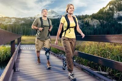 Hiking Advertising