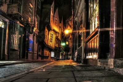 The Shambles at Night