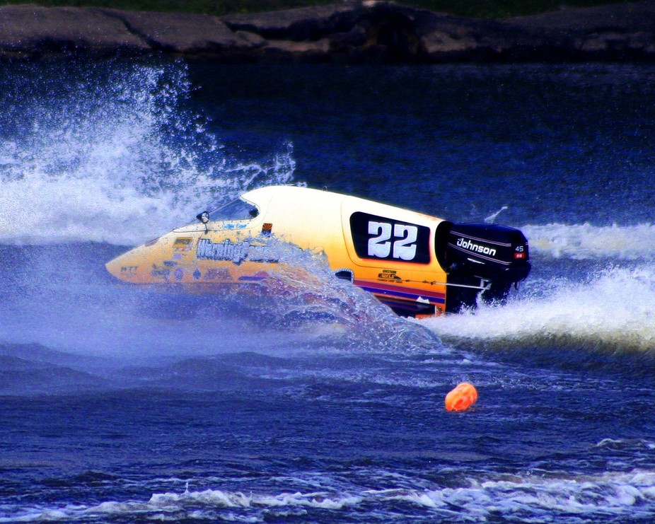 High Speed Boat racing / Kankakee Il.