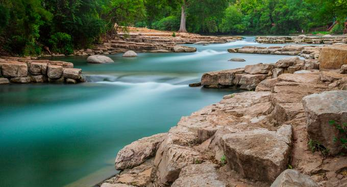 San Marcos River by Tracy_Frans - Tripod Required Photo Contest