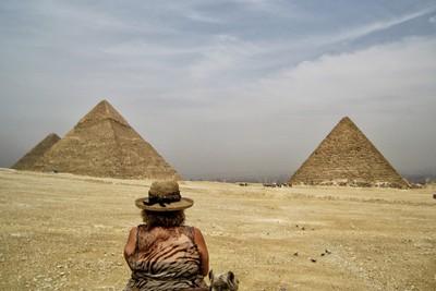 Camel Ride on Giza Plateau