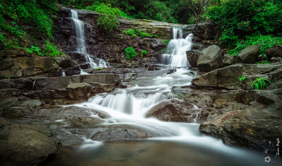 Picturesque Waterfall