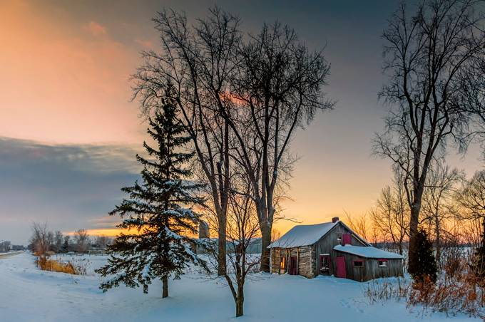 Chez Théo by mafe - Farms And Barns Photo Contest